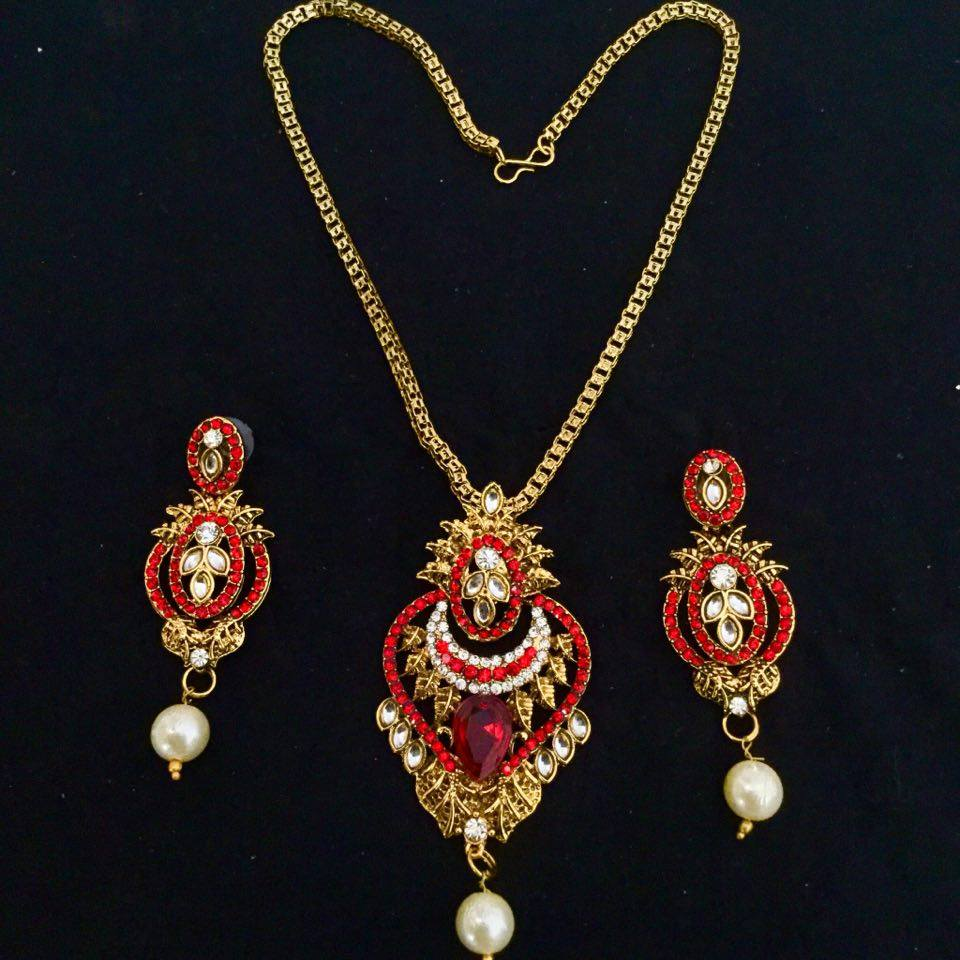 motif design mango griiham copy yr sets set koorgi designer laxmi guarantee fitted products of ruby temple necklace