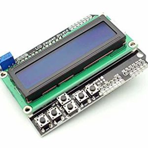 ARDUINO LCD SHIELD WITH KEYPAD